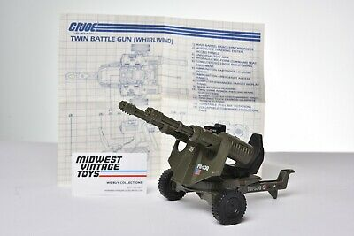 $ CDN1.20 • Buy Vintage GI JOE - VEHICLE 1983 Twin Battle Gun Whirlwind 100% Complete - HASBRO