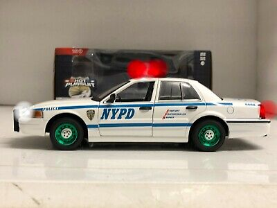 £77.86 • Buy 1/24 CHASE GREEN MACHINE 2011 NYPD New York POLICE FCV Ford WORKING LIGHTS Hunt