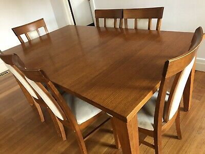 AU190 • Buy Solid Wood (Ash) Table & Chairs - Extendable