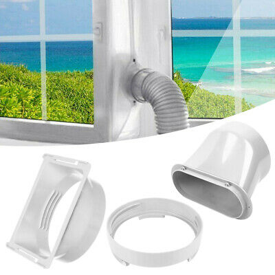 AU13.94 • Buy Portable Air Conditioner Window Exhaust Duct Pipe Hose Interface Connector AV