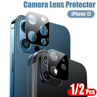 £3.99 • Buy Full Cover Camera Lens Screen Protector For IPhone 12 11 Pro Max Tempered Glass