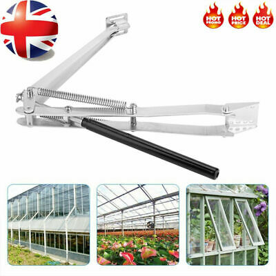 £18.59 • Buy Greenhouse Automatic Window Opener Double Spring Temperature Control Opener