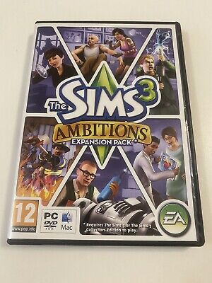 £2.99 • Buy The Sims 3 Ambitions Expansion Pack - PC/MAC DVD