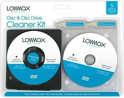 £2.60 • Buy CD & DVD Lens Cleaner Set - Compatible With Laptop PC PS3 PS4 XBOX WII Repair