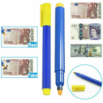 £1.99 • Buy Bank Note Checker Pens Counterfeit Fake Forged Money Tester Marker Detector