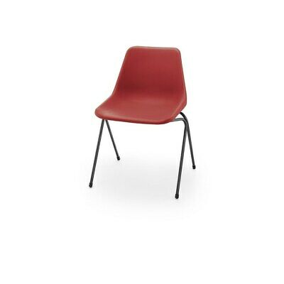 £87 • Buy Hille Red Robin Day Poly Side Plastic Chair
