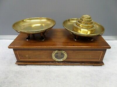 £74.99 • Buy Rare Vintage W & T Avery 2lb Weighing Scales With Weights. For Repair