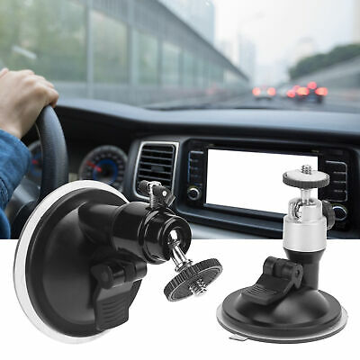 £4.50 • Buy Universal In‑Car Suction Cup Bracket Tripod Holder Mount Adapter Camcorder Base