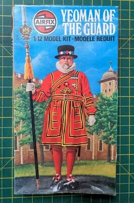 £24.99 • Buy Airfix 1:12  Yeoman Of The Guard Model Kit 1/12 Vintage