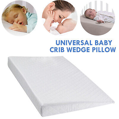 £13 • Buy Large Baby Wedge Pillow Anti Reflux Colic Cushion For Pram Crib Cot Bed Flat