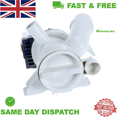 £19.99 • Buy Hoover Optima Oph Washing Machine Complete Drain Pump+filter Unit