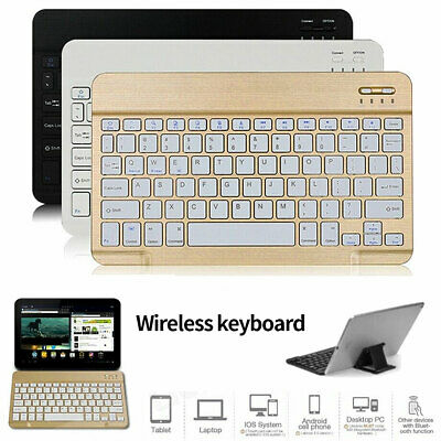 $12.49 • Buy Rechargeable Wireless Bluetooth Keyboard Keypads For MAC IOS Android PC IPad