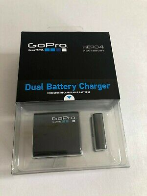 $ CDN42.66 • Buy GOPRO Hero 4 Accessary Dual Battery Charger Including Rechargeable Battery