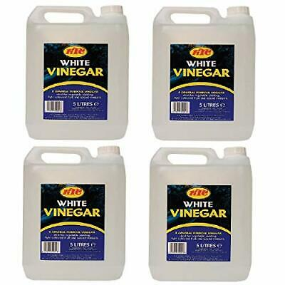 £24.99 • Buy KTC White VInegar 5Ltr Pack Of 4 - Perfect For Pickling Cleaning Marinating