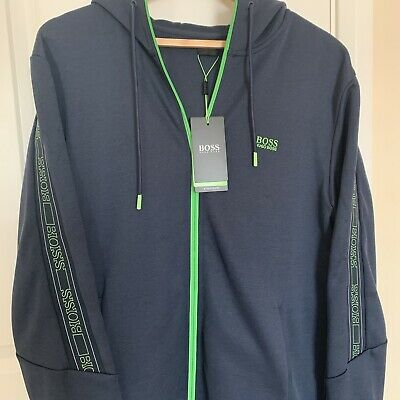£99 • Buy Hugo Boss Logo Tape Hoodie Size XL New With Tags