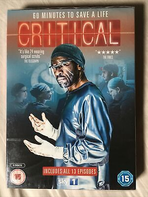£10.69 • Buy Critical DVD 2015 Catherine Walker Claire Skinner Lennie James New & Sealed Sky1