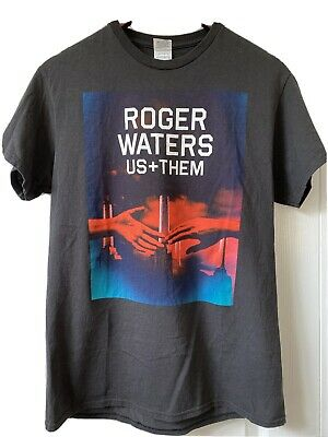 £21.57 • Buy RARE Roger Waters 2017 Us + Them Tour T-Shirt Pink Floyd Animals Hands Rock HTF