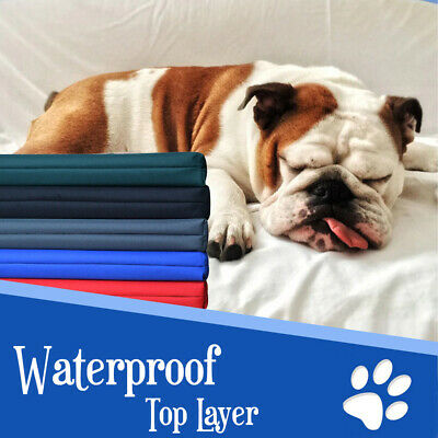 £18.90 • Buy Waterproof Mattress For Dogs Pet Cage Crate Mat Dog Bed Cat Pad Washable Cover