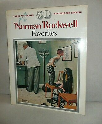 $ CDN25.11 • Buy 50 Norman Rockwell Favorites Large Coffee Table Book, Pictures Suitable To Frame