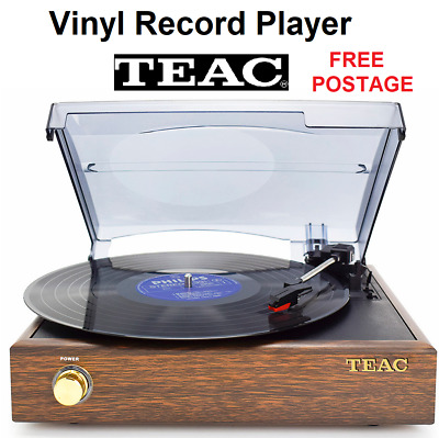 AU129 • Buy TEAC Vinyl Record Player With Bluetooth Built In Speakers With 2x Bonus Stylus
