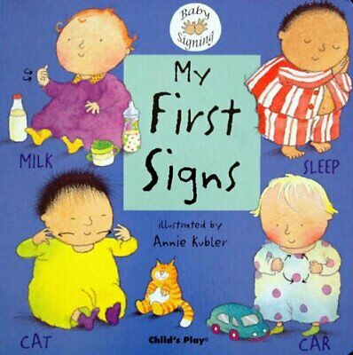 £6.85 • Buy My First Signs: BSL (British Sign Language) (Board Book 2004) New Book