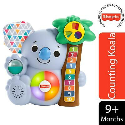 £21.49 • Buy Fisher-Price Linkimals Counting Koala Interactive Toy For Kids