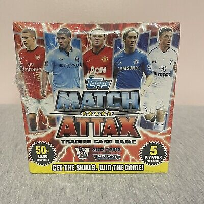 £125 • Buy Rare - 100 Packets Unopened Sealed Box- Match Attax 2012-2013 Trading Cards