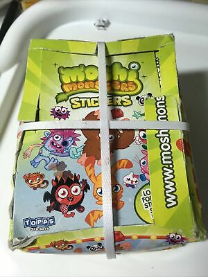 £18 • Buy Moshi Monsters Stickers Topps Box 50 Packs Packets