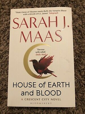 $43 • Buy SPRAYED EDGES House Of Earth And Blood Crescent City WATERSTONES EXCL Sarah Maas