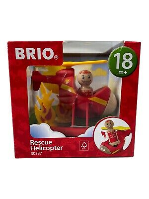£11.49 • Buy BRIO Rescue Helicopter Fire- Toy Age 18 Months + New In Box 30337