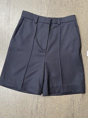 £25 • Buy Topshop Boutique Wool Tailored Shorts Size 10