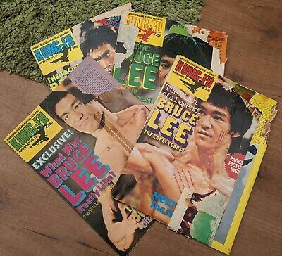 £12.99 • Buy BRUCE LEE KUNG FU MONTHLY KFM POSTER MAGAZINES X4