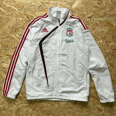 £49 • Buy Liverpool 2009 2010 Football Soccer Track Top Jacket Adidas Large 38/40