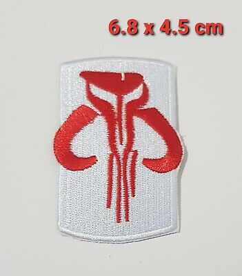 £1.90 • Buy STAR WARS Movies Iron Or Sew On Embroidered Patch - Bantha Skull Red