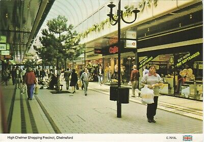£2.50 • Buy 6x4 Continental Size Printed Postcard High Chelmer Shopping Centre Chelmsford