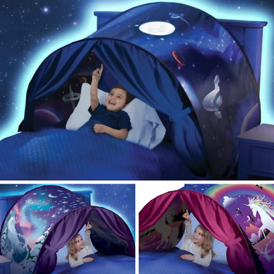 £14.86 • Buy Kids Girls/Boy Bed Canopy Cot Tent On Over The Bed Mosquito Net DREAM TENTS UK