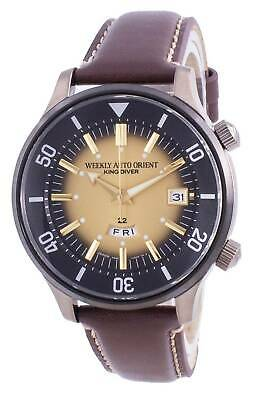 £166 • Buy Orient King Diver Automatic RA-AA0D04G0HB 200M Men's Watch