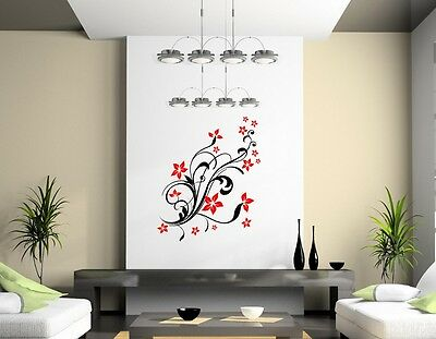 £17.99 • Buy Spring Flowers Genuine Broomsticker Wall Sticker Decal Floral Wall Decoration UK