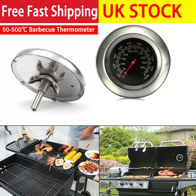 £4.89 • Buy 50-400℃ Stainless Steel Thermometer Temperature Gauge Barbecue BBQ Smoker Grill