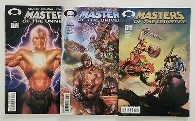 £9.95 • Buy Masters Of The Universe Comic Book Lot X 3