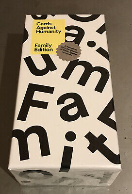 AU42 • Buy Cards Against Humanity Family Edition New & Sealed