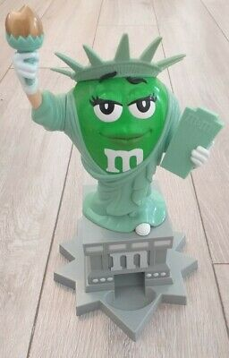 $27.83 • Buy M&M's World Candy Dispenser Miss Green Lady Liberty Statue Of Liberty NY Rare