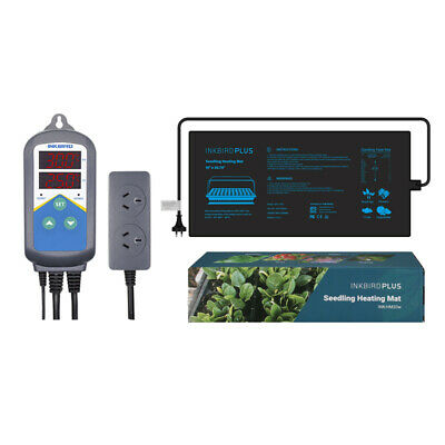 AU59.99 • Buy Plant Seeding Heat Mat + Temperature Controller Thermostats Timer Only Heating