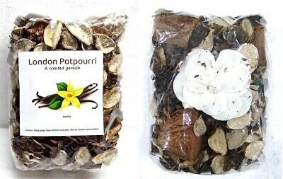 £8.88 • Buy London Pot Pourri Scented With Amazing Fragrance & Flower - Vanilla Flavour UK