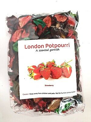 £8.98 • Buy London Pot Pourri Scented With Amazing Fragrance & Flower- Strawberry Flavour UK