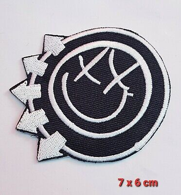 £1.89 • Buy Blink 182 Rock Band Logo Iron Sew On Embroidered Patch