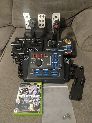 £353.99 • Buy Steel Battalion. Microsoft Xbox, 2002. Game, Controllers, Pedals, Manual. Tested