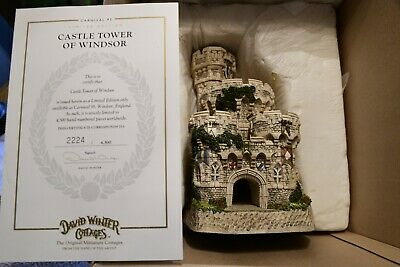 £215.71 • Buy David Winter ~ CASTLE TOWER OF WINDSOR ~ MIB ~  ~ LE 2224/4500 Signed New