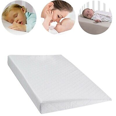 £12.99 • Buy Large Baby Wedge Pillow Anti Reflux Colic Cushion For Pram Crib Cot Bed Flat
