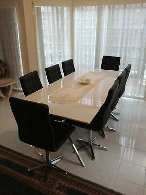 AU250 • Buy Dining Table 8 Chairs Harvey Norman